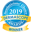 2019 Dermascope Awards Winner